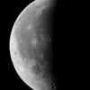 未明の月(月齢23.520)