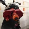 中国の電動バイク用に盗難防止ロックを追加してみた。
