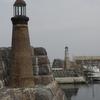 春霞の函館漁港…