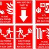 Một số biển báo quan trọng trong công tác bảo hộ lao động.