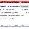 原核生物のReference-assisted assembly CAR