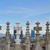 ミラノ ドゥオモ テラスから見たアルプスの絶景 ~2014欧州旅行記 その14~