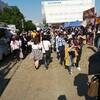 錦糸公園の肉×音楽フェスのニクオン、お酒は近くのオリナスで調達しよう!