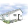 蔵のある平屋の間取り図「白い平屋の家を建てました」