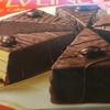 チョコケーキみたいなお菓子、甘くて美味しいシルベリーヌを買いました。冷やして食べるとまた美味しそうです!