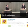 アメリカ人の議論を聞く!ディベート系英語Podcast「The Great Debates」がとても学べる
