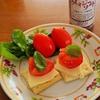 トマトの収穫 マリーゴールドとの混植