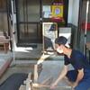 薪窯パンallumeでピザ作り体験