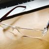 ついに、老眼鏡を買ってしまいました。