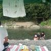 徳島 川の水がとっても綺麗で冷たい穴吹川 油屋美馬館 ~3日目~