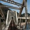 JR関西本線の車窓風景・木津川橋梁を写した画像を現像してみる