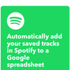 Spotifyで「お気に入りの曲」に追加した曲の曲名・アーティスト名・アルバム名などを自動でGoogleスプレッドシートに記録する方法