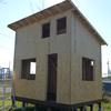 庭に小屋を作ってみた その20 2015.11.4