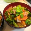 【1食48円】魯肉飯で作るなめこ入り豚汁の簡単レシピ