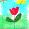 デジタルアート その6  蝶々のお散歩