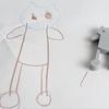 子供の自作オリジナルキャラクターを3Dプリンタで立体化してみた