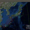 2018-01-06 地震の予測マップ (北海道中央・関東・鳥取・岡山・香川を除く日本全国が注意対象)