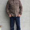 デラックスウエア 創成期からの人気商品デニムとネルの融合シャツ HV-01ヒッコリーネルシャツ 数量限定の新色登場です♬