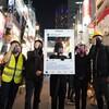 ハロウィーンの渋谷に香港のデモ隊が