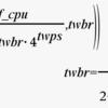 I2C / SCL周波数を設定する