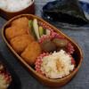白身魚とタルタルソース弁当