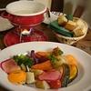 オーガニック野菜のチーズフォンデュが美味しいイタリアンバル(梅田)