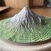 手乗り富士山(やまつみ)をつくる。