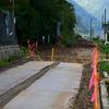 JR高山本線の復旧工事