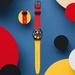 スウォッチがミッキーマウス生誕90周年を記念しダミアン・ハーストデザインの時計を2本販売