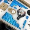 Makeblock mBot Ultimate 2.0 (Ultimate2.0 10-in-1 Robot Kit)を開けてとりあえずRobotic Arm Tankをマニュアル通りに作ってみた