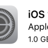 iPhone 5sのiOS10アップデート後、感じたこと、不具合のようなもの。