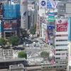 東京における台風21号の影響。