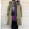 今日の服|キルティングコートをインナーに。ブリティッシュ風クラシック×アメリカンなラギッドアイテムのミックスコーディネート
