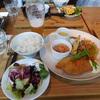 橿原市役所分庁舎にある奈良食堂のランチ