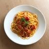 ミニトマトのスパゲッティ
