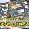 レッツノートの内蔵無線LANカードを交換する(裏ブタ外すの超簡単)
