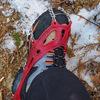 冬場は低山トレッキングでも軽アイゼンの携行をお忘れなく