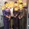 シンガポール航空ビジネスクラス搭乗記(シンガポール→中部)/SQガール紫様からお名刺をいただいた