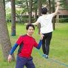 07/22(日) スラックライン体験会 in 西目シーガル