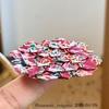 電車内で折り紙シリーズ。第2弾は「あじさい折り・花折りピラミッド」!