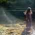 綺麗な描写・独特なボケ味を出すカールツァイス(プラナー)50mmレンズを使用し、川で創作ポートレート撮影!【愛知県新城市】