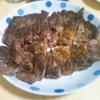 特大のステーキを。
