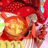 パイナップルの芯でココナッツカレースープ