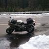 寒い、寒い、それでも人はバイクに乗る…のか?アホちゃうん。