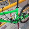 自転車用ロック(小型U字ロックとダブルループワイヤー)