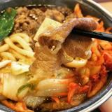 ★★キムチ牛すき鍋定食[すき家]