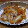 幸運な病のレシピ( 959 )夜:ガスパチョ風&ミネステローネ的トマトスープ仕立て直し、スーパーのお惣菜(笑)、カップ麺、(笑)