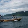マラウィ湖でスノーケリング。時には毅然とした対応が必要