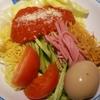 どうとんぼり神座 東京ドームシティ店 イタリア風トマト冷麺 後楽園からも近いです♪
