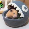 【ハムスター 動画】ワンワンハウスに食べられるハムスター!Present super mario character house to hamster!【DIY】